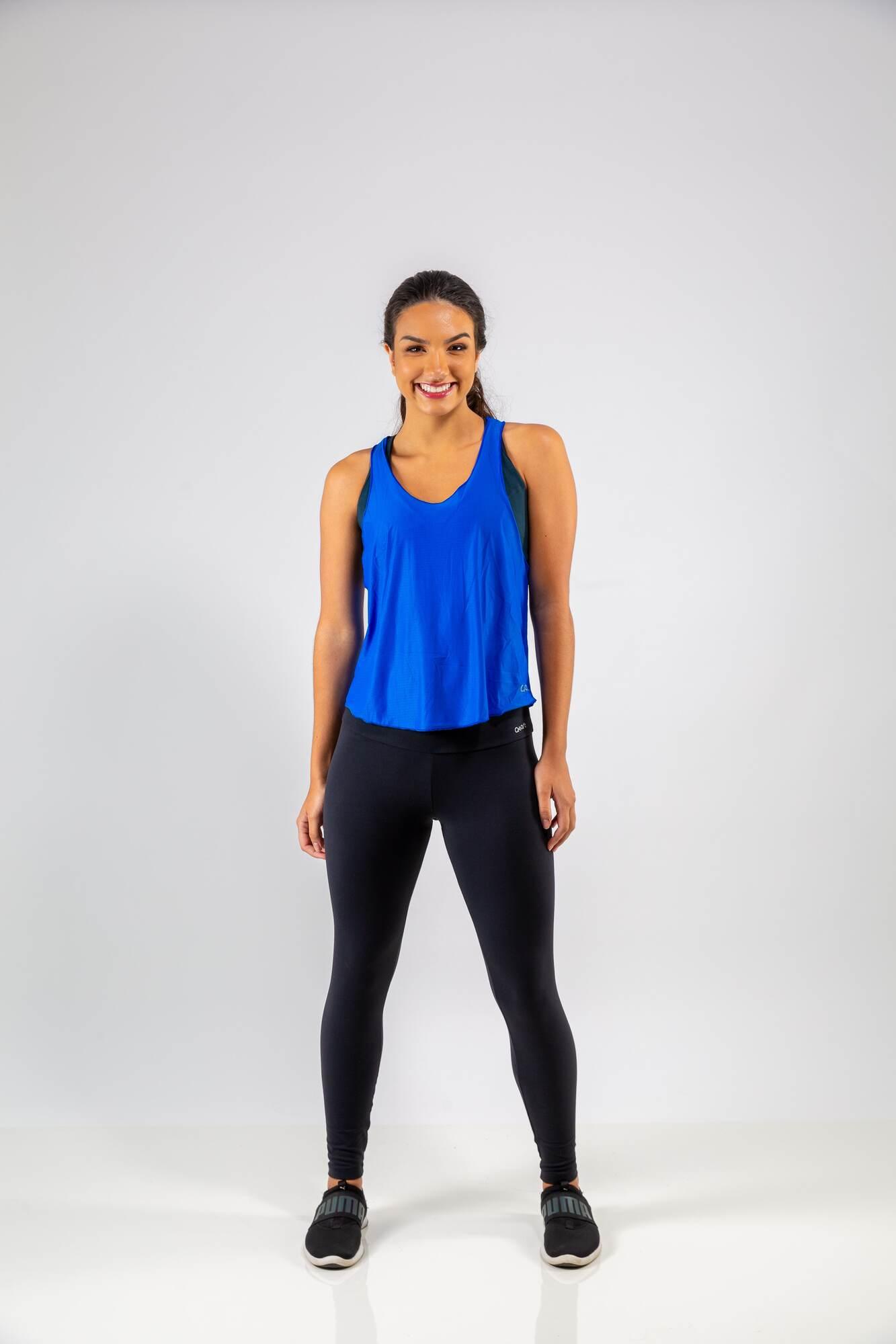 Camiseta Nadador Top Fit Azul