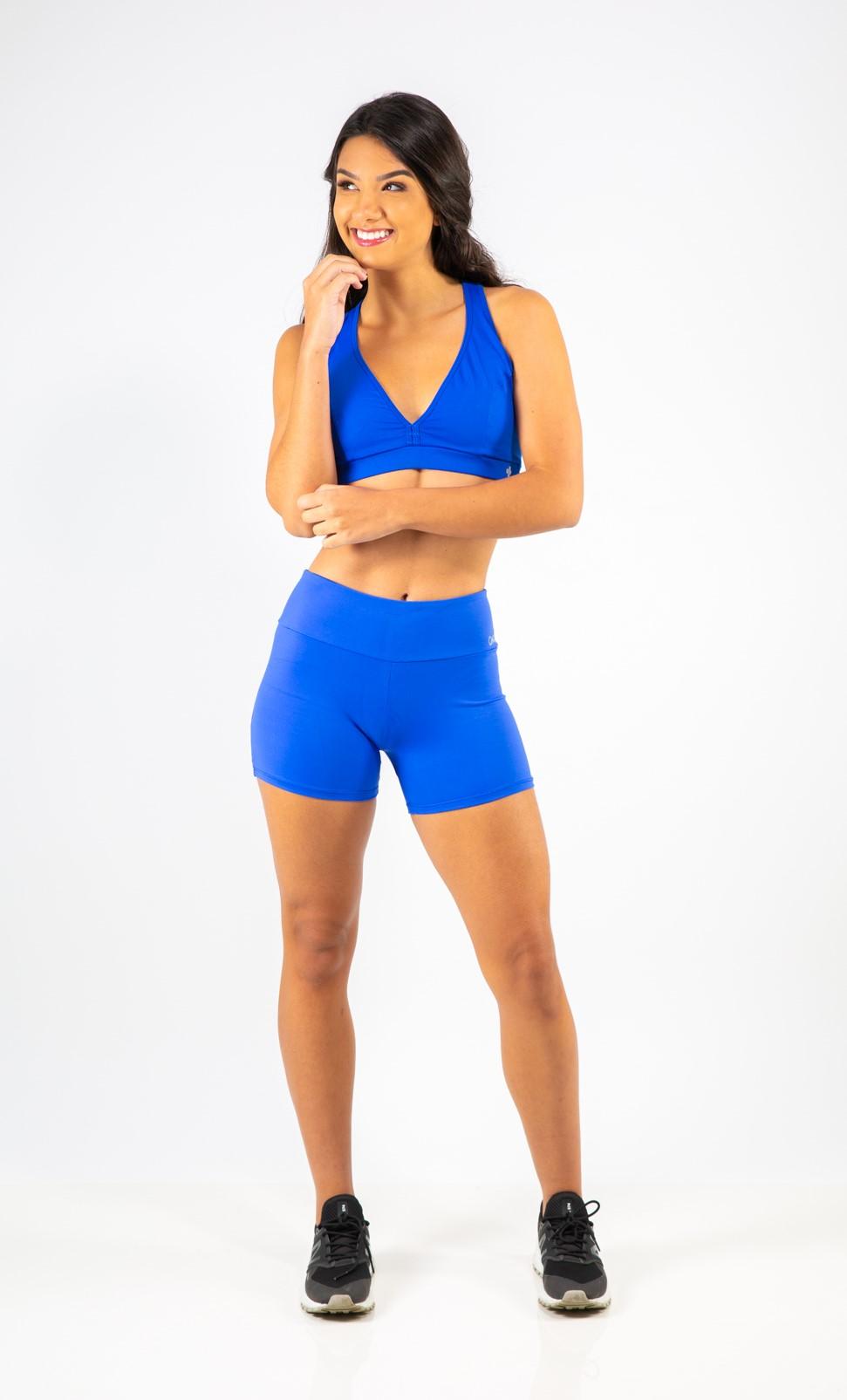 Short Básico Azul