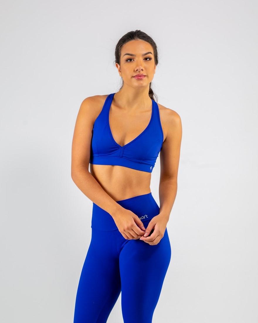 Top Básico Azul