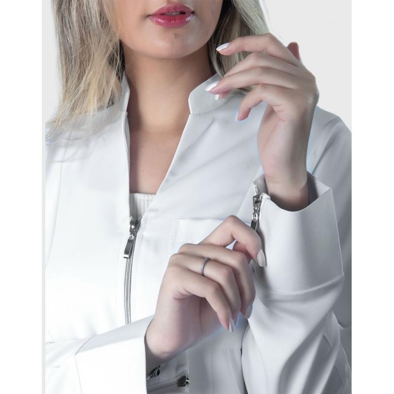 Jaleco Lauren Branco