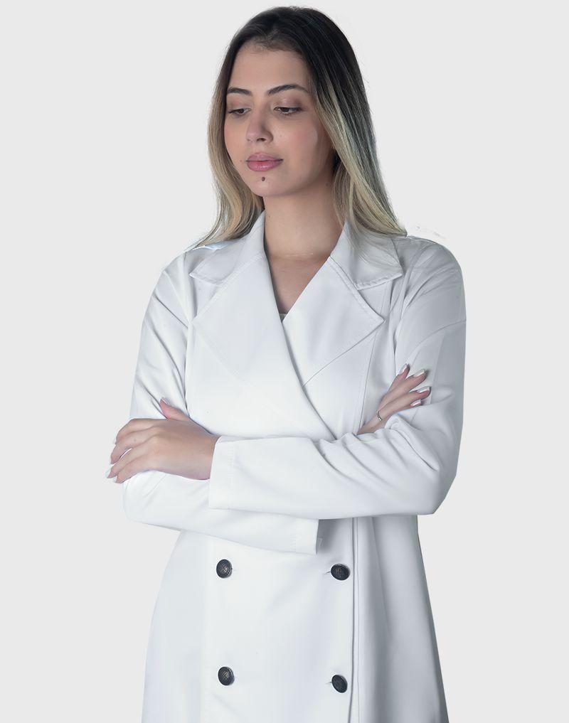 Jaleco Melissa Branco