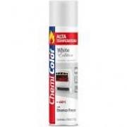 Tinta Spray 350ml Alta Temperatura Branco Fosco