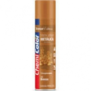 Tinta Spray 400ml metálica bronze