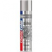 Tinta Spray 400ml Metálica Cromada