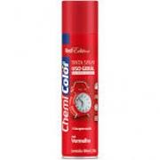 Tinta Spray 400ml metálica vermelho