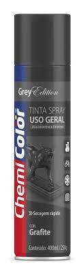 Tinta Spray Uso Geral 400ml grafite
