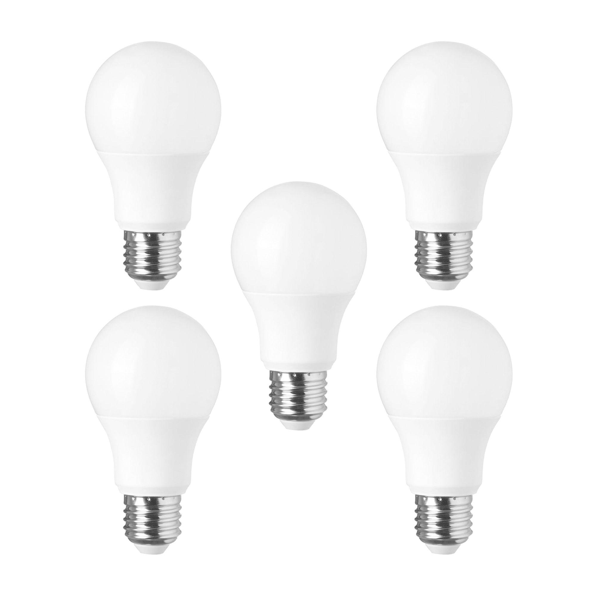 (10 Pçs) Lâmpada Bulbo Super Led 4,5/5W - 3000K (Bivolt)