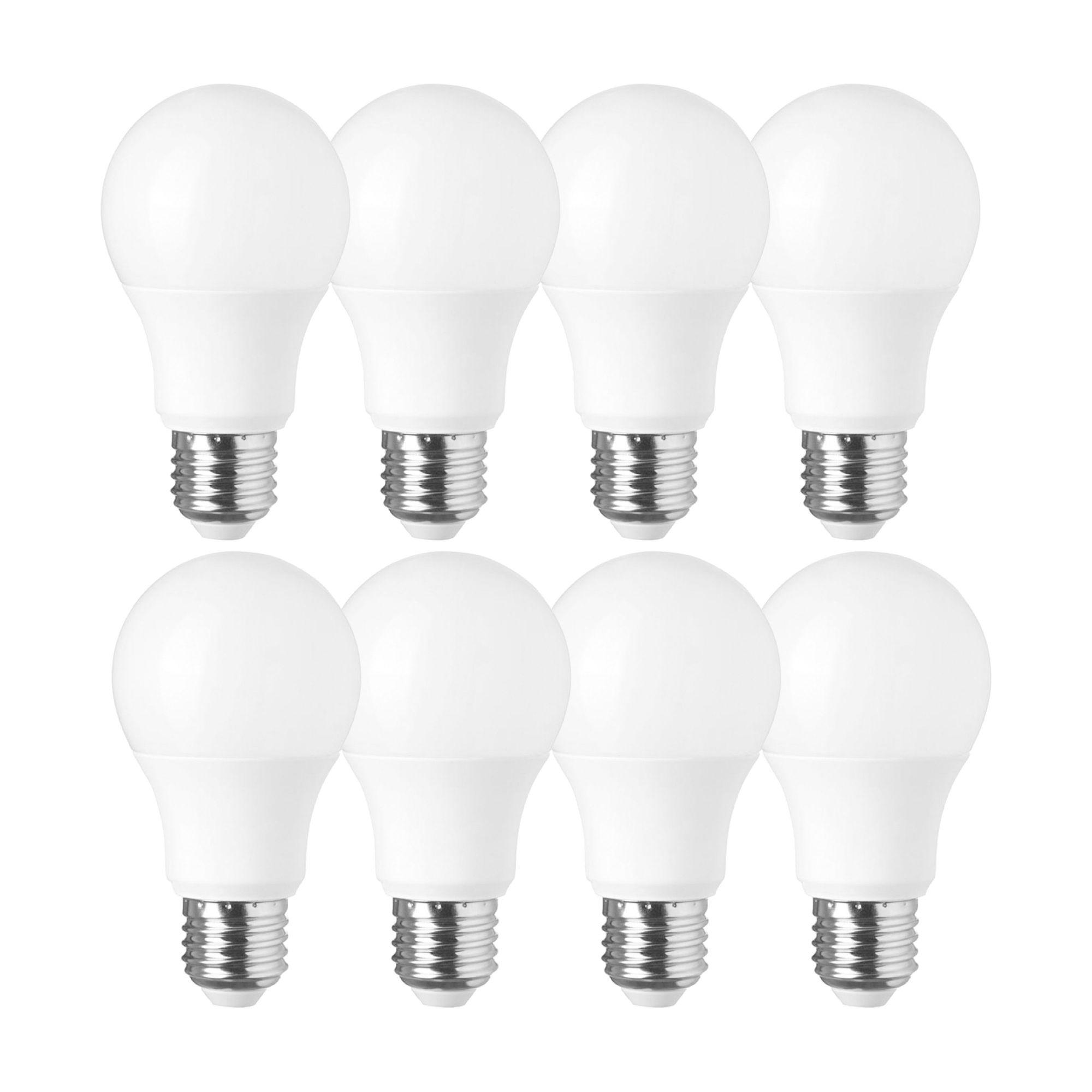 (8 Pçs) Lâmpada Bulbo Super Led 6/7W - 6400K (Bivolt)
