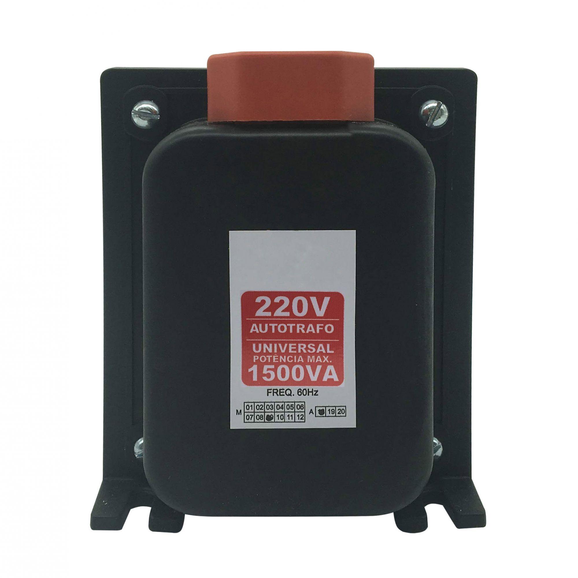 Autotransformador Automático 1500VA- (Bivolt)