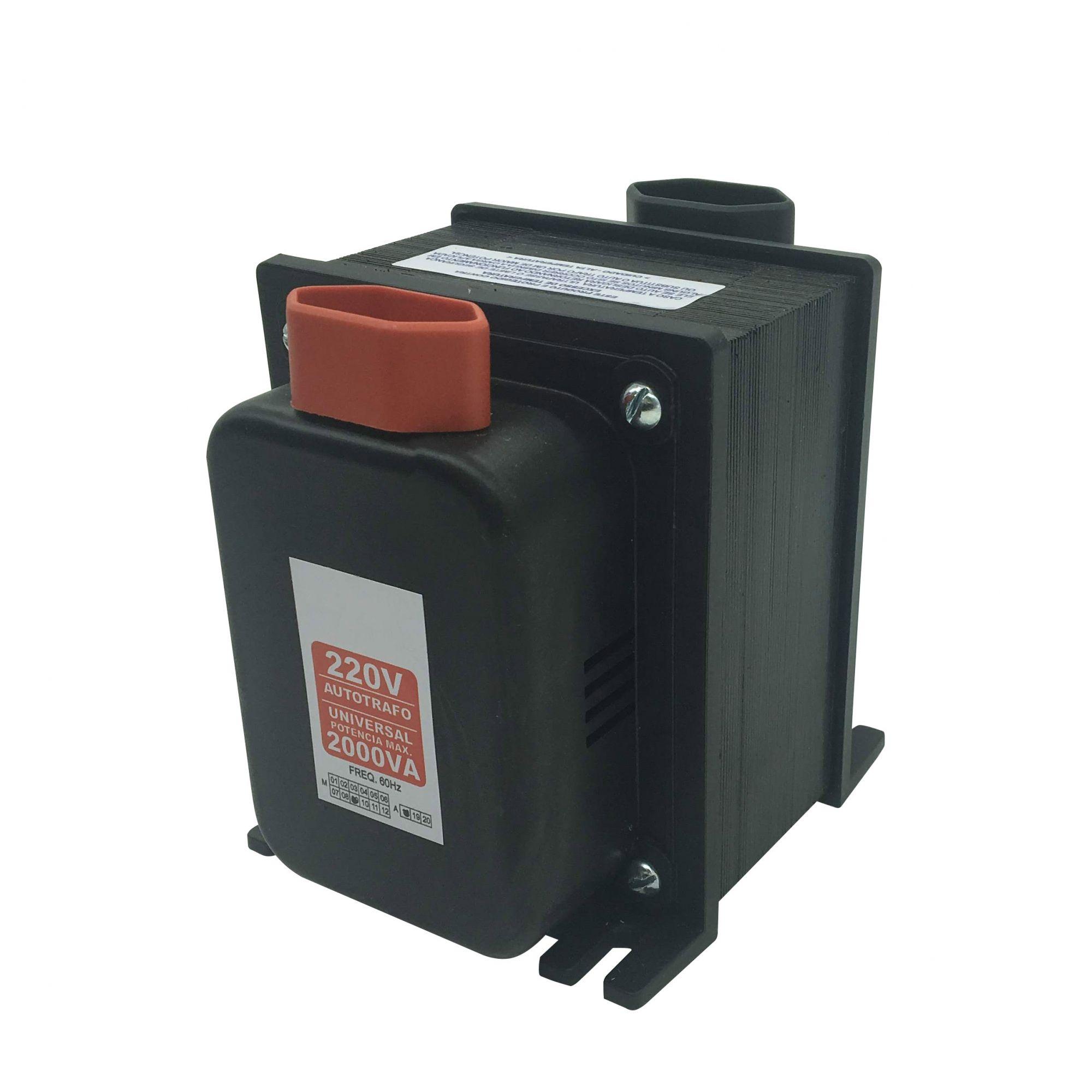Autotransformador Automático 2000VA 110/220 220/110 - Bivolt