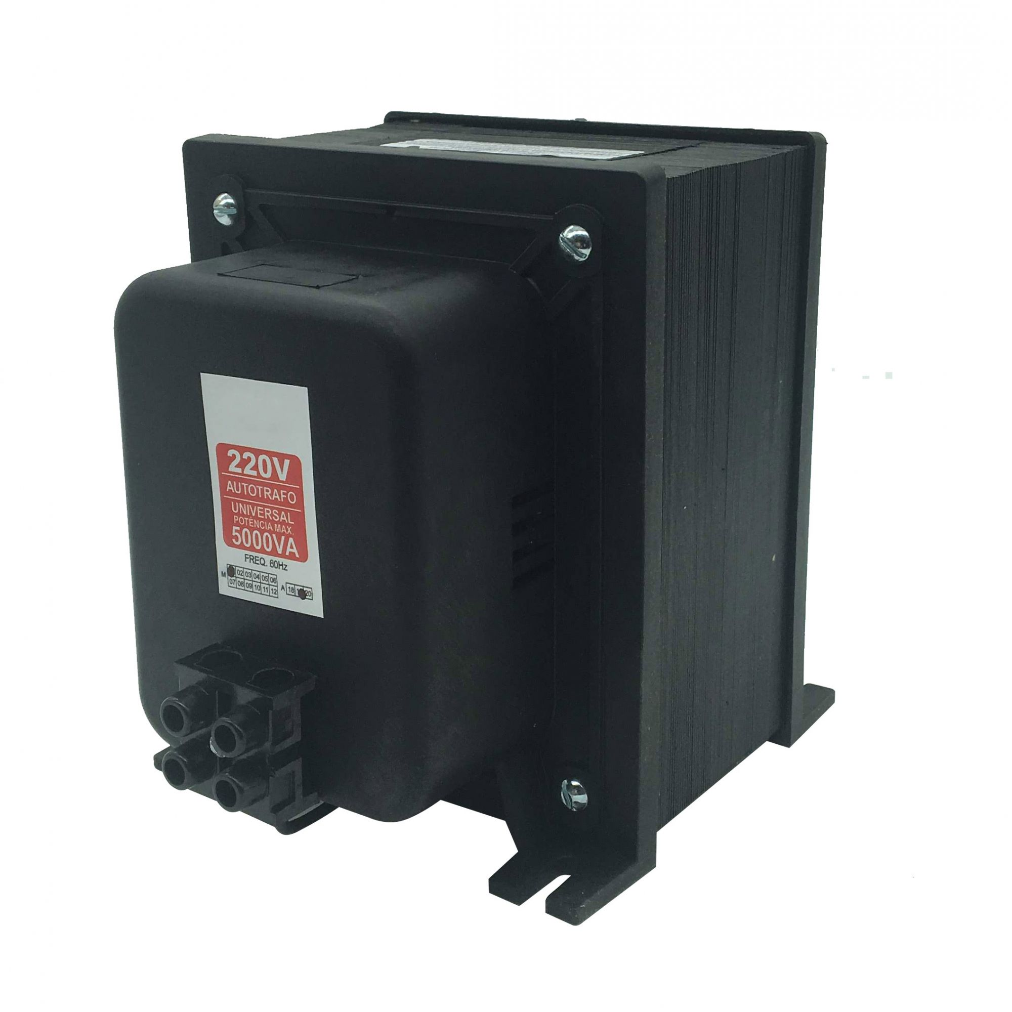 Autotransformador Automático 5000VA 110/220 220/110 - Bivolt