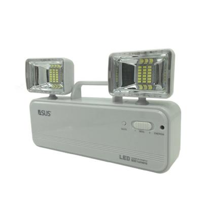 Bloco de Iluminação de Emergência c/ 2 Faróis LED 600 Lúmens AS36 - Asus (Bivolt)