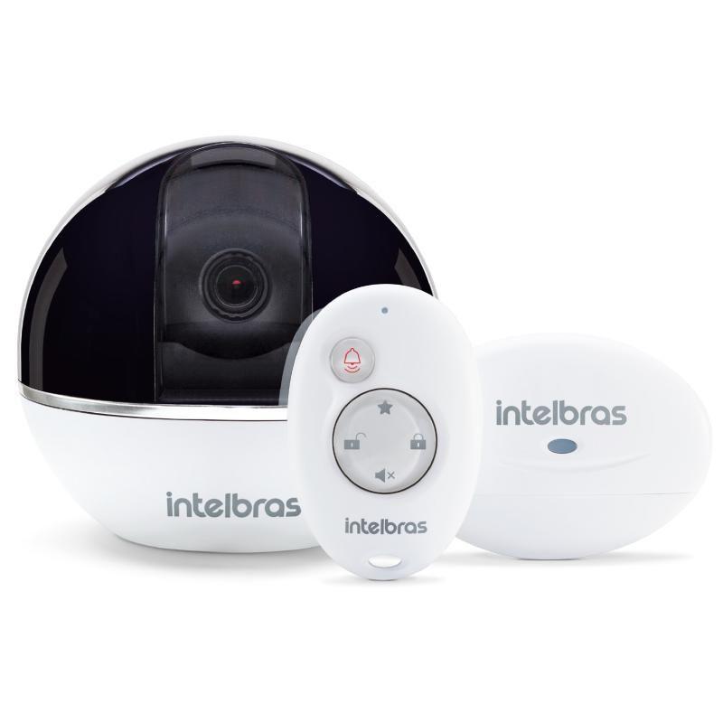 Câmera de Segurança c/ Alarme Integrado Wi-Fi Full HD IC7S â Intelbras (Bivolt)