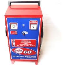 Carregador de Bateria CB060 C/Auxílio de Partida 60A