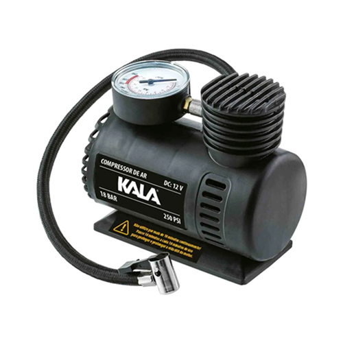 Compressor de Ar Compacto 12V 250Psi