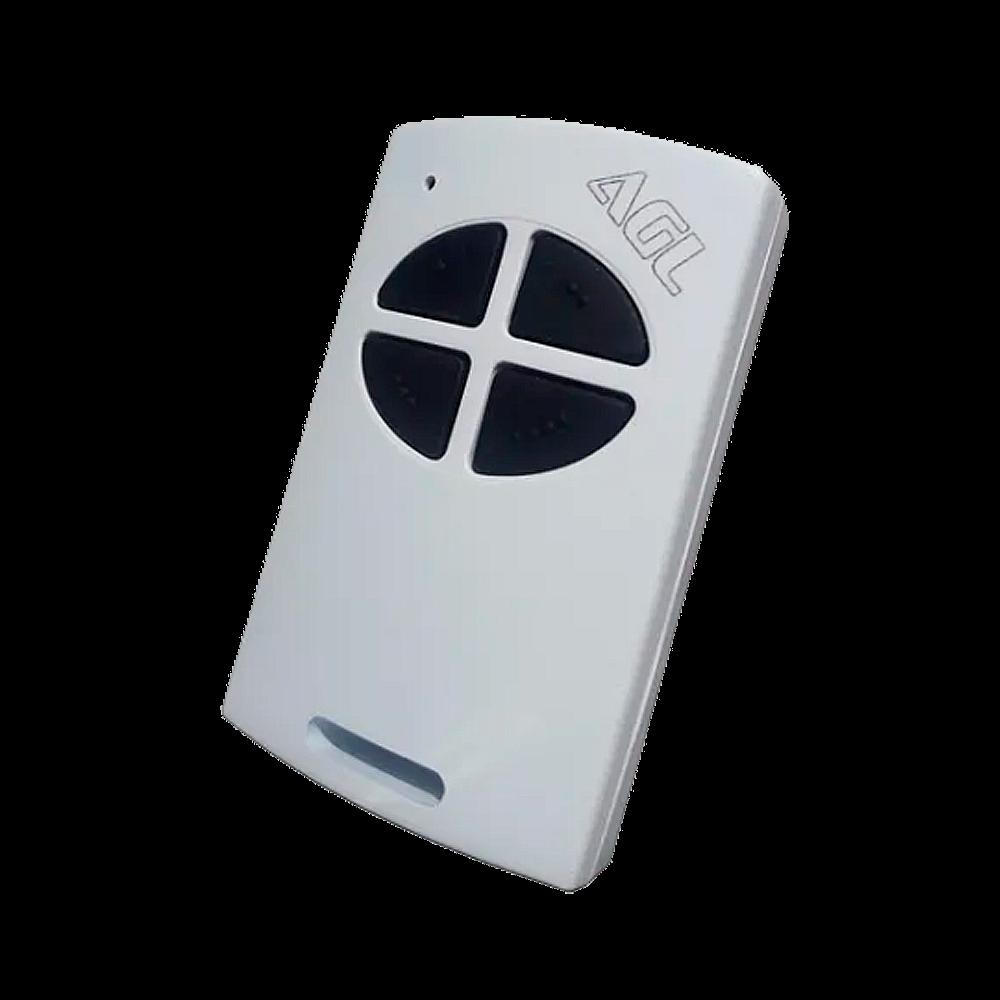Controle 433.92 MHz Branco/Preto - AGL
