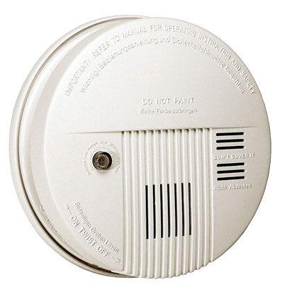 Detector de Fumaça c/ Bateria Key West 6915 - DNI