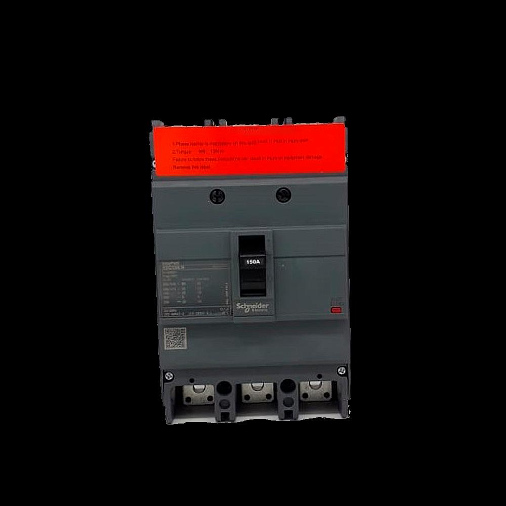 Disjuntor 3P EZC250N 150A 25KA/415V - EasyPact