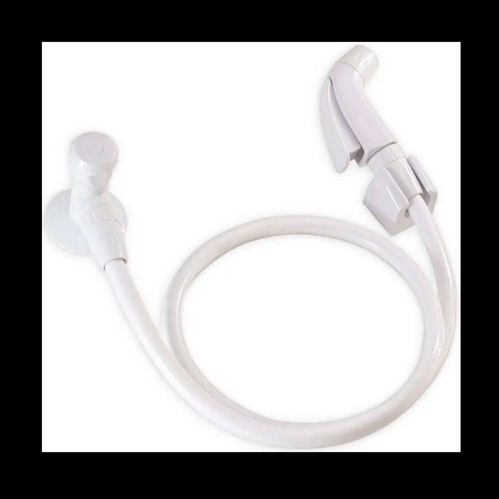 Ducha Higiênica ABS Branco - Real Metais