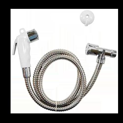 Ducha Higiênica Soft ABS Branco - Real Metais