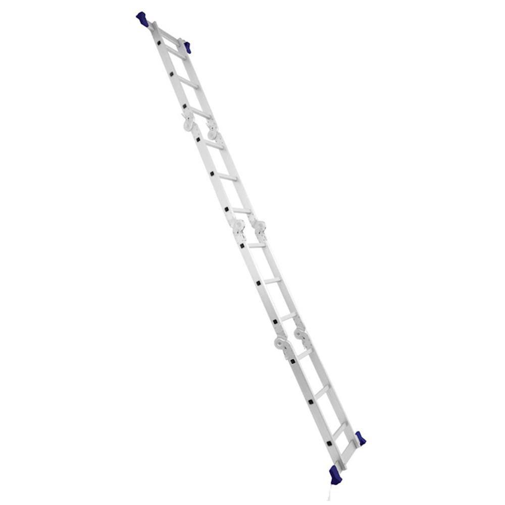 Escada Alumínio Multifuncional 4x3 12 Degraus - Mor
