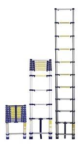 Escada Aluminio Telescopica 10 Deg. 3,12M