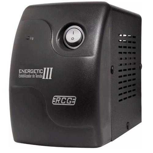 Estabilizador Energetic III Mini 1000VA 4 Tomadas - RCG (110V)