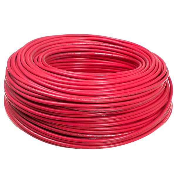 Fío Rígido Antichama 10mm Vermelho 750V (10 metros)
