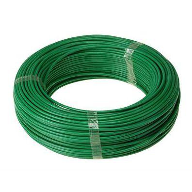Fio Rígido Antichama 4mm Verde 750V - Multimarcas (100 metros)