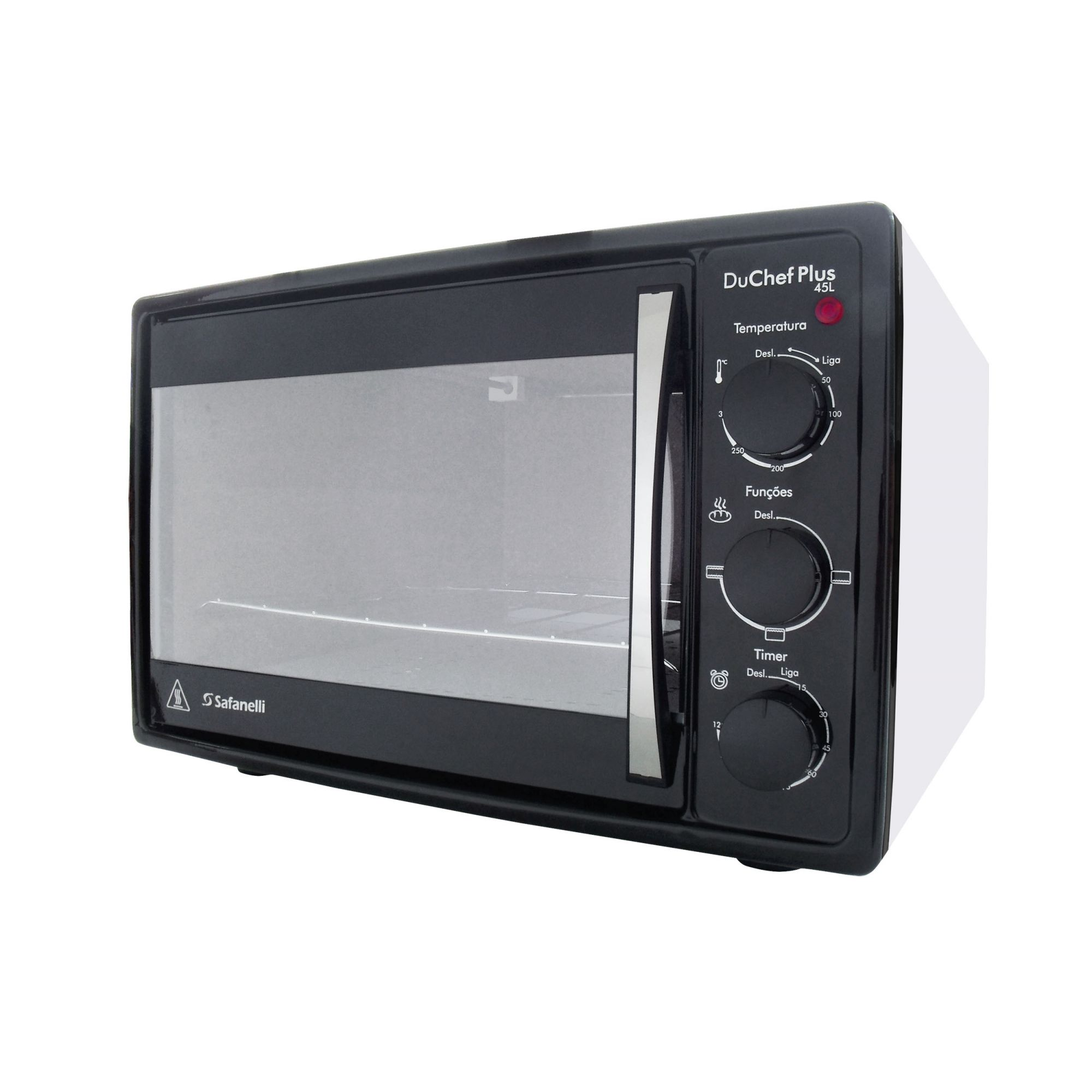 Forno Elétrico 45L c/ Timer 1750W Du Chef Plus (110V)