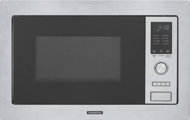 Forno Micro-Ondas Embutir 25L Inox- 220V