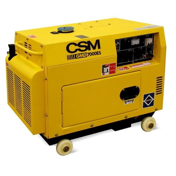 Gerador a Diesel Cabinado ATS Monofásico 9HP Bivolt - CSM
