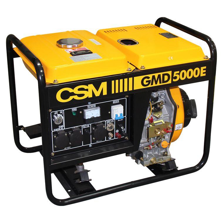 Gerador de Energia a Diesel Monofásico 4,5Kva - CSM (Bivolt)