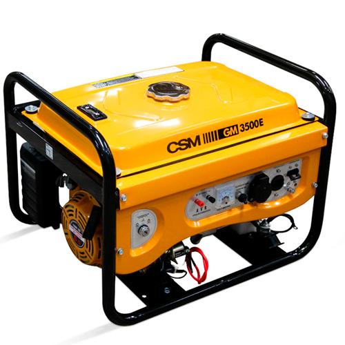 Gerador de Energia Portátil a Gasolina 4T 3,5Kva 110/220V - CSM