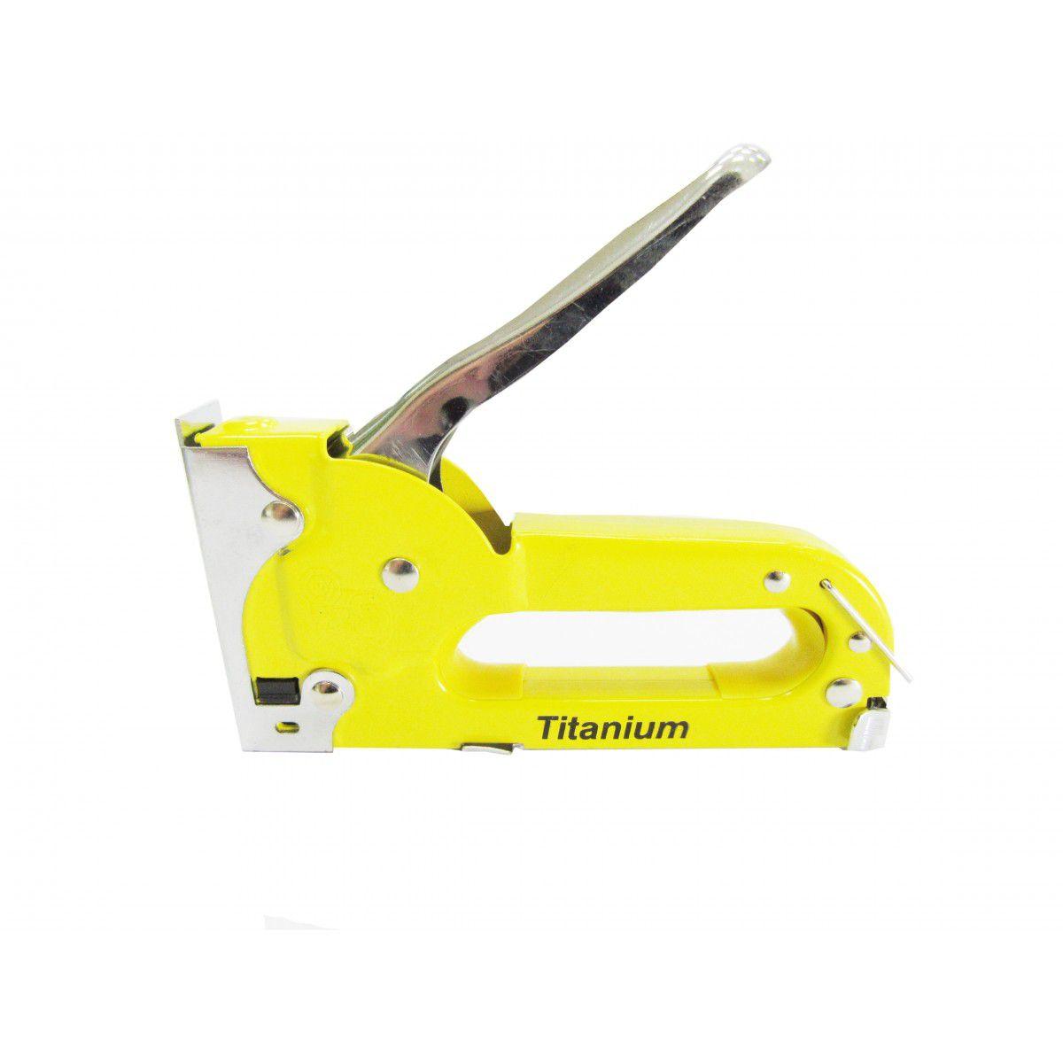 Grampeador Manual Profissional - Titanium do Brasil