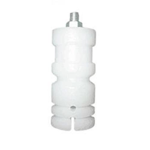 Isolador c/ Parafuso p/ Cerca Elétrica - Branco