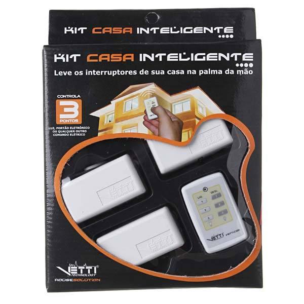 Kit Casa Inteligente 3 Pontos