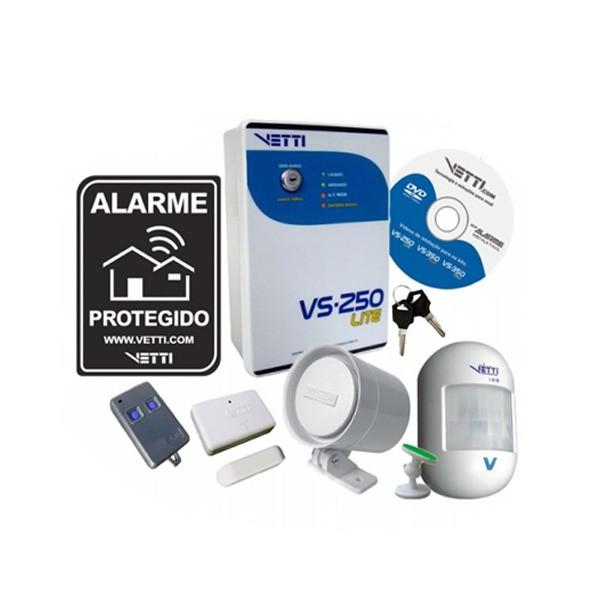 Kit Sistema de Alarme Sem Fio VS-250 Lite - Vetti