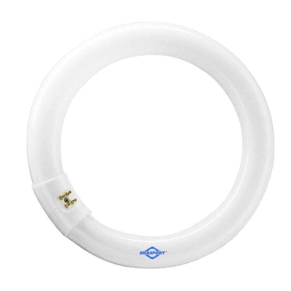 Lâmpada Fluorescente Circular 22W com Adaptador - Brasfort