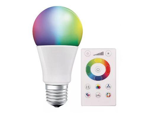 Lâmpada Super Led A60 - 7,5W RGB