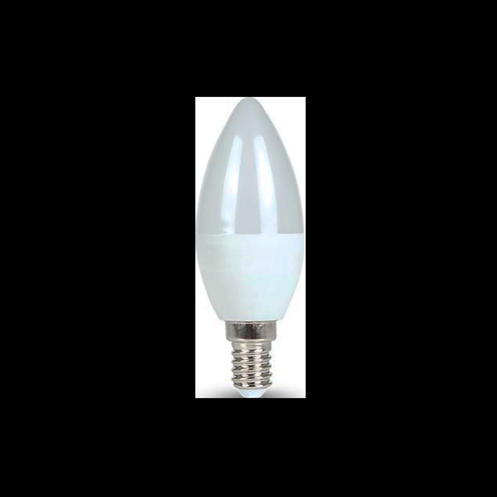Lâmpada Vela Lisa LED 4,5W 127V E14 3000K Bivolt