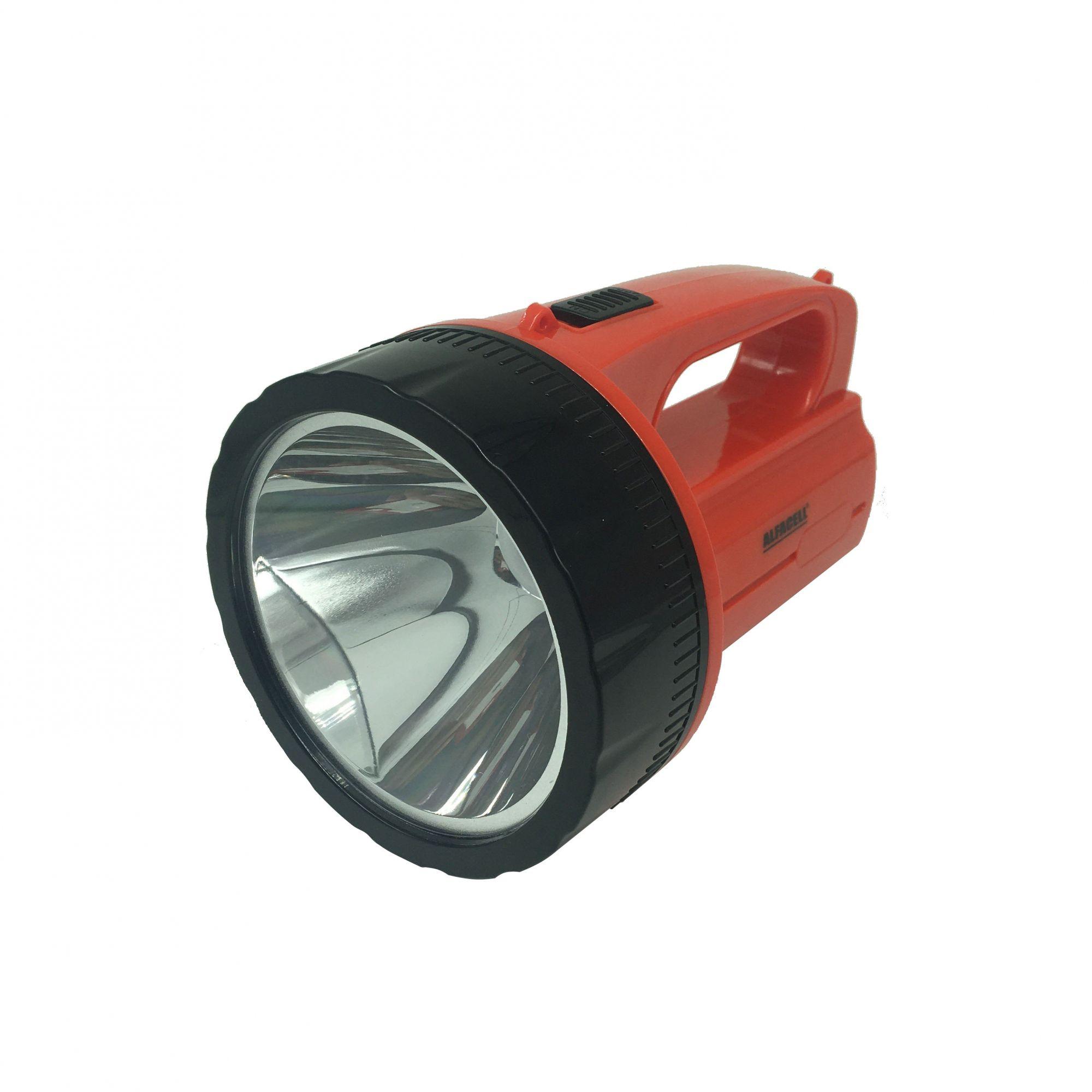 Lanterna LED 1W Recarregável - Alfacell (Bivolt)