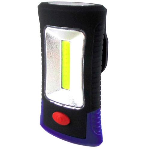 Lanterna LED Magnética Multifuncional c/ Gancho