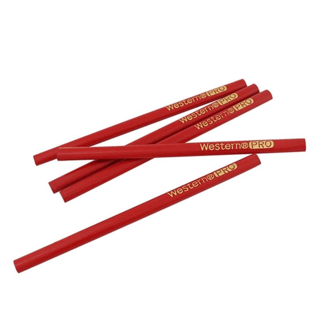 Lápis p/ Carpinteiro 17,5 x Ø0,8 cm c/ 6 Pçs CP-16 - Western (5 pçs)