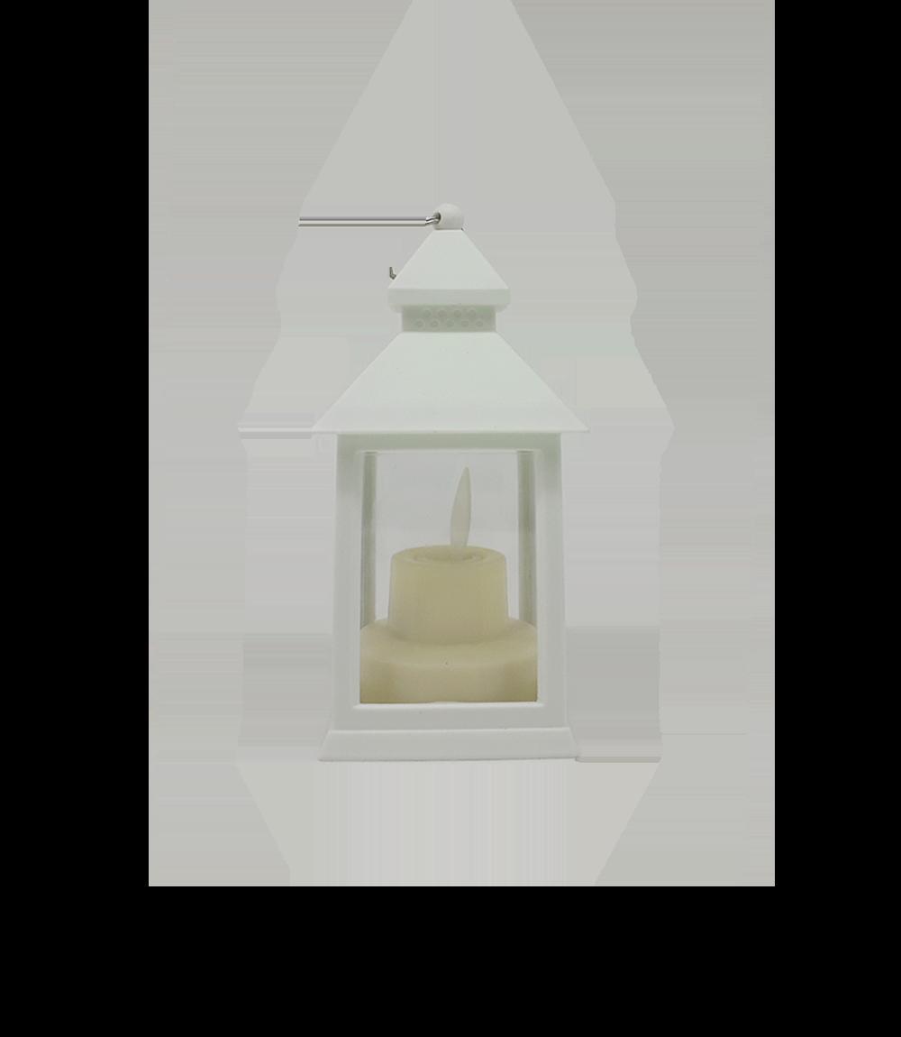 Luminária Lamparina Vela de LED Decorativa