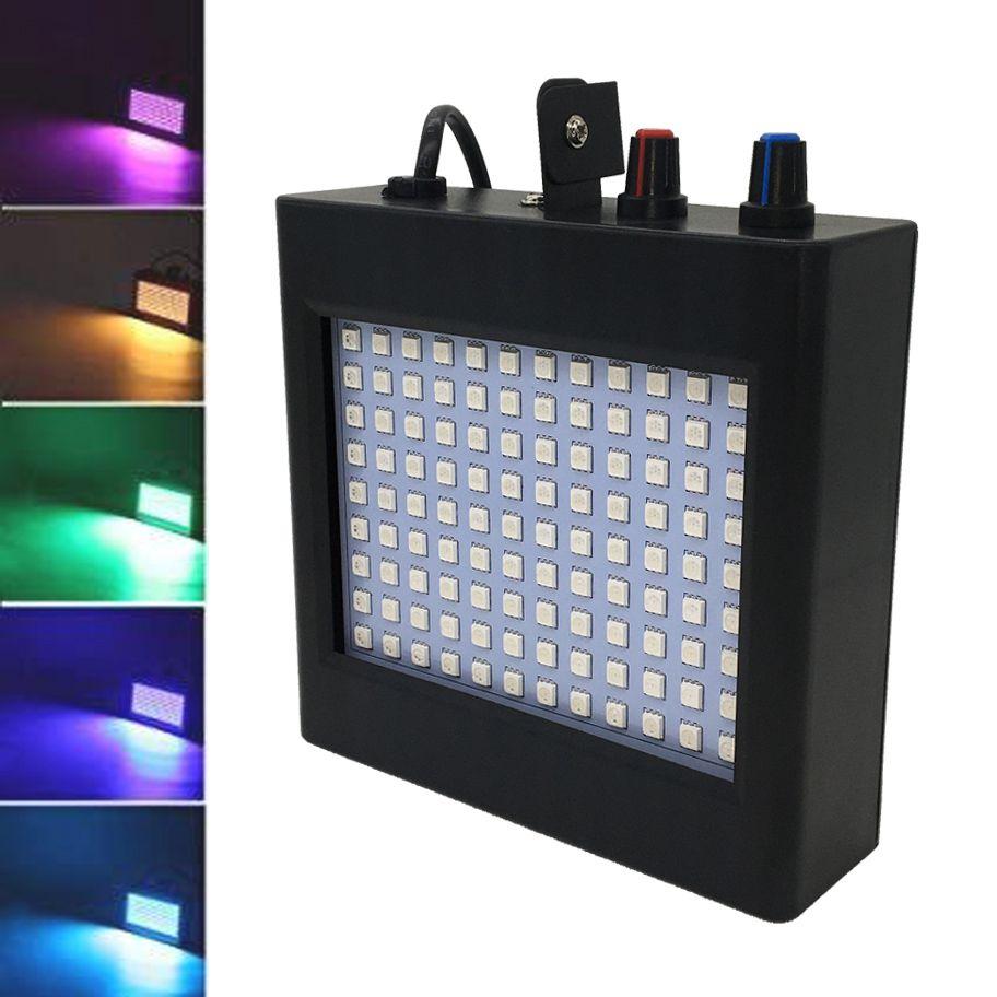 Luz Strobo LED RGB 25W c/ Sensor de Som (Bivolt)