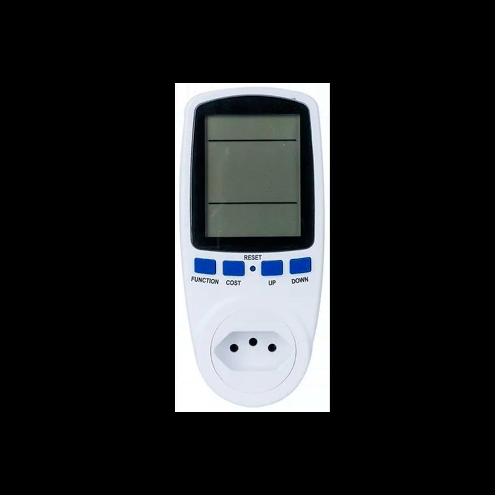 Medidor Consumo de Tomada Wattímetro Digital Bivolt
