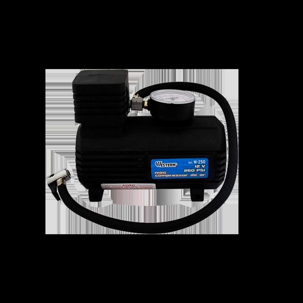 Mini Compressor de Ar 12V 250 PSI