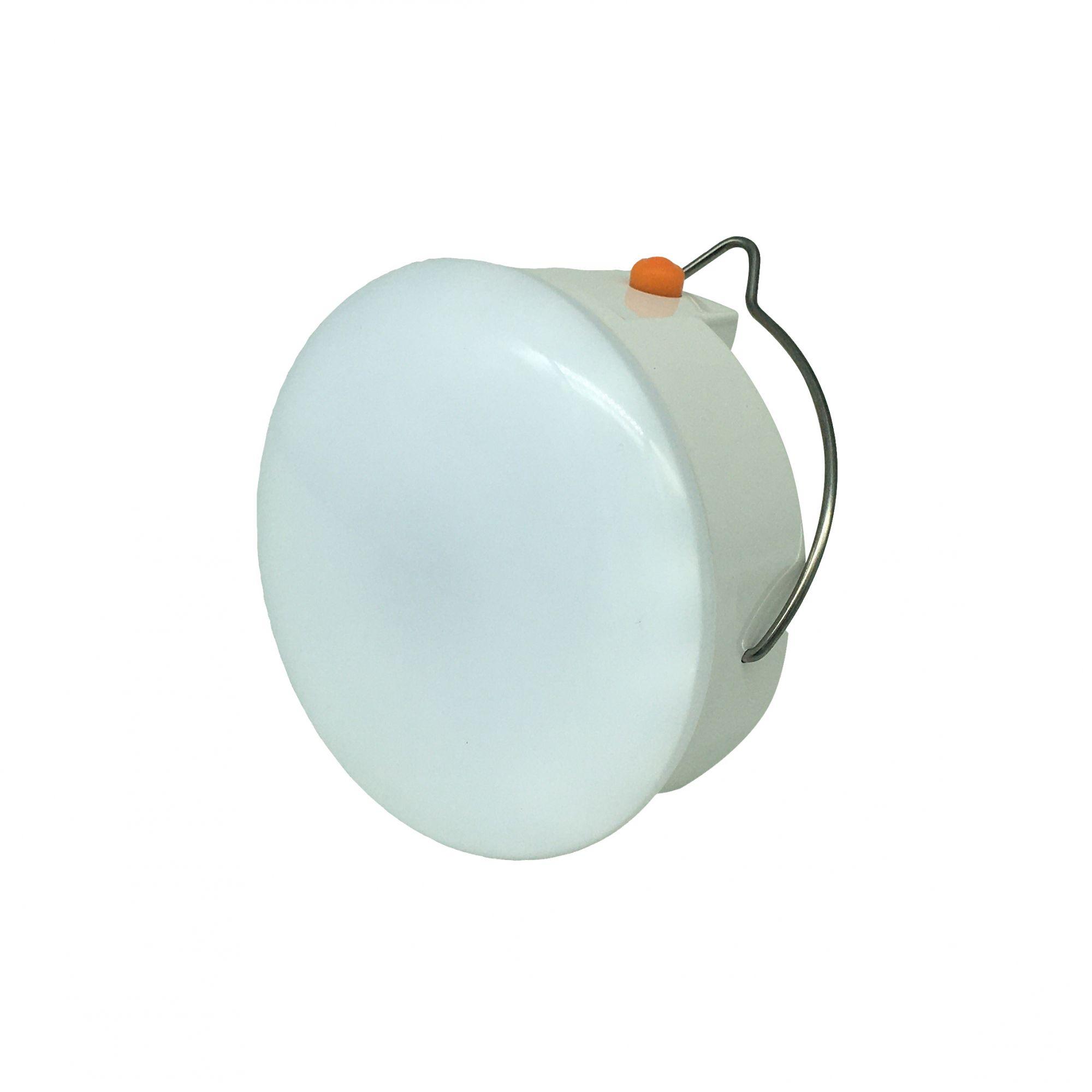 Mini Luminária de Emergência LED c/ Gancho Multi Light - Uniled