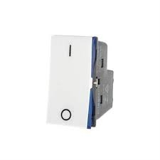 Modulo Interruptor Bipolar Simples Branco Pial Plus+ - 10A / 250V